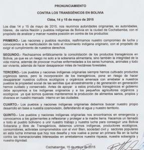 PRONUNCIAMIENTO EN CONTRA DE LOS TRANSGENICOS.docx